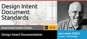 SEGD Podcasts | Design Intent Documentation Standards