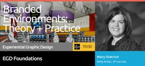 Learn how branded environments developed into a mature design process, survey brand environment techniques employed today, and review how brand environments are employed in healthcare, exhibitions, and other building types.