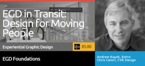 Click to find out more about the SEGD Podcast: EGD in Transportation