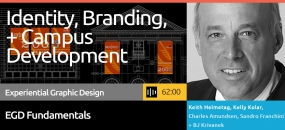 This course blends architecture, exhibit design, wayfinding, planning, and graphic design in an in-depth discussion of what a complete brand is, how an identity can be incorporated into a number of levels, and how identity effectiveness can be measured.