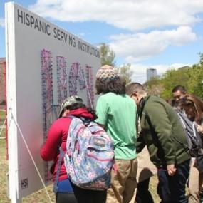 We are HSI—MSU Denver Hispanic Serving Institution Interactive Installation