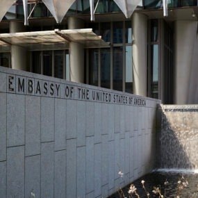 U.S. Embassy in London, Poetry of Place