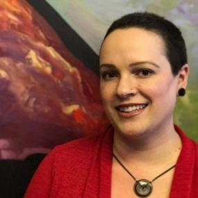 Alejandra Thomas is the VP of Environmental Graphic Design at Jones Worley in Atlanta