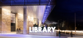 Stacks and Bike Racks—Austin Central Library Wayfinding