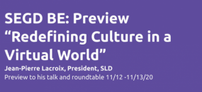"SEGD BE Preview: ""Redefining Culture in a Virtual World"""