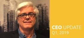 Clive Roux, CEO SEGD, Q1 2019 CEO Update