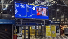 Passenger Information Gets Brighter for Irish Rail with Daktronics Display