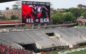 Daktronics at University of Georgia's Sanford Stadium