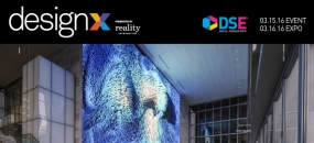 DesignX March 15-16, 2016 at DSE 2016