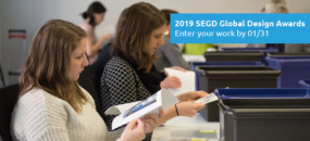 Submit your 2018 SEGD Global Design Awards entries by 01/31!