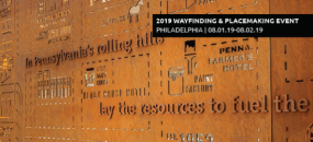 Book Your Tour for the 2019 SEGD Wayfinding & Placemaking event in Philadelphia, Aug.1-2.