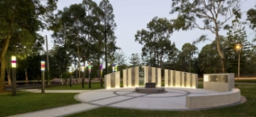 ANZAC Memorial at Buchanan Park (by Dotdash)