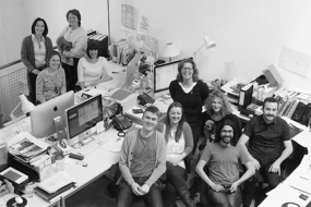 Image of the Holmes Wood Studio staff
