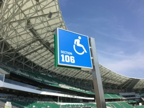 Mosaic Stadium Earns Rick Hansen Foundation Accessibility Certification