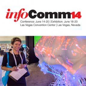 Banner for the 2014 Infocomm show