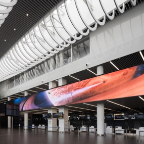 "International Airport ""Gagarin"" Art Exposition"