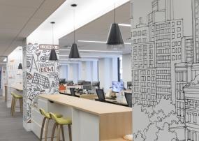 Gensler Illustrates a New York City Vibe