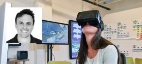 Photo: Josh Goldblum Virtual Reality Headset