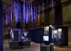 LIGO Exhibit by Lee H. Skolnick Architecture + Design Partnership