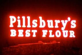 Pillsbury sign