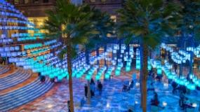 Luminaries installation at Brookfield Place