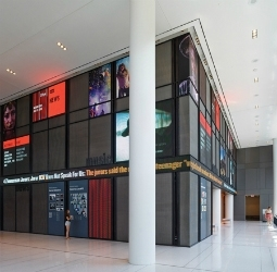 NPR Headquarters lobby new Digital Signage