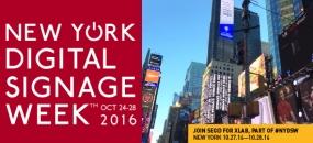 NY Digital Signage Week 2016 Image
