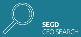 SEGD CEO Search 2020