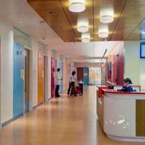 Interior of Randall Children's Hospital