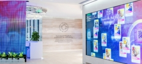 "SLD Brings the ""Fountain of You"" to Shenzhen (image: lobby)"
