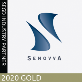 Senovva, SEGD 2020 Gold Industry Partner
