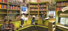 The Design Cure: Applying Exhibit Design Expertise to Schools, Libraries, Hospitals, and Airports
