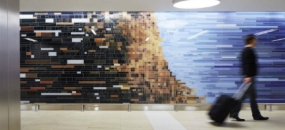 T5 Murals at Chicago O'Hare