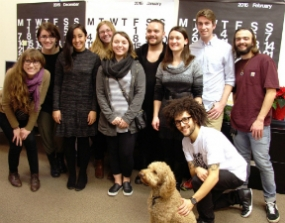 Western Washington University students visit Michael Courtney Design