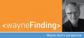 "Wayne Hunt's ""Waynefinding"""