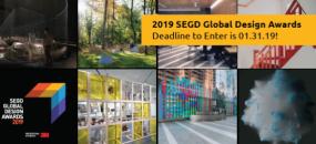 Enter the 2019 SEGD Global Design Awards!