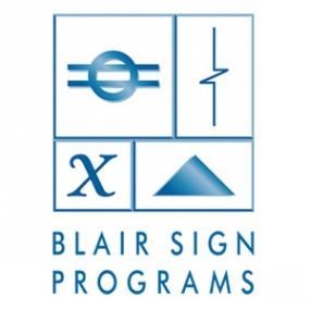 Blair Signs Programs Logo