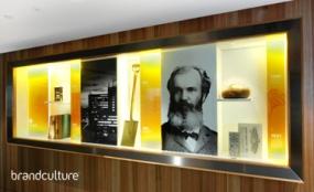 Photo of MLC boardroom display cabinet