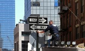 Photo of New York City street signs
