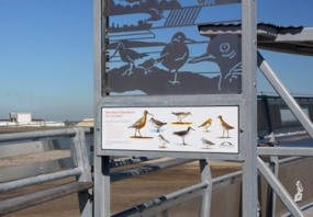 photograph of Port Botany interpretive signage