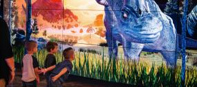 Ideum's Interactive Dino Stomp