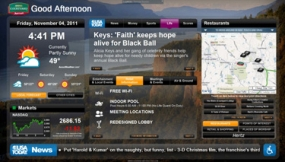 image of Marriott's GoBoard virtual concierge