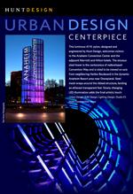Image of Anaheim Convention Center luminous pylon