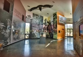 Photo of Vasquez Rocks exhibit