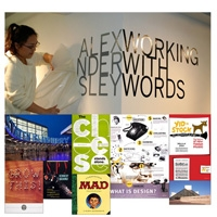 Photo Alexander Isley: Working with Words exhibition