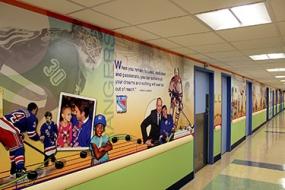 Photo of Morgan Stanley Children's Hospital mural