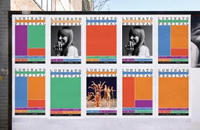 Photo of identity for Luminato Festival in Toronto