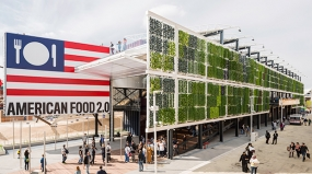 image of USA Pavilion at Expo Milano by Pentagram