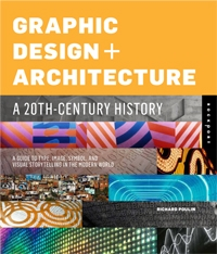 Cover of Graphic Design + Architecture by Richard Poulin