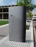 photo of interpetive signage for The Yards Park